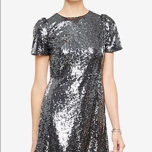 NWT Ann Taylor Sequin Dress Sz-10